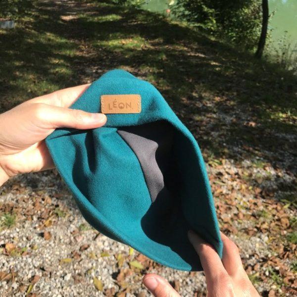 Vue intérieure du bonnet
